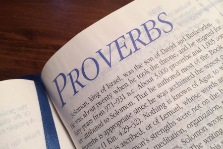 Proverbs Challenge